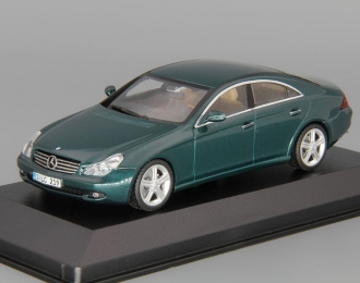 (Уценка!) MERCEDES-BENZ CLS-Class C219 (2004), green andradit
