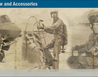 Сборная модель NATO Pilots Ground Crew and Accessories