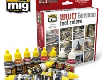 Набор акриловых красок WWII GERMAN TOOL COLORS