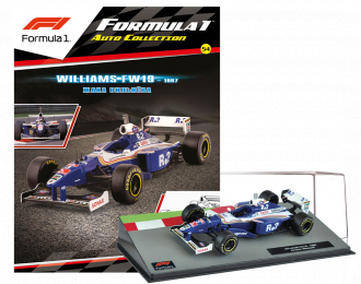 WILLIAMS FW19 Жака Вильнёва, Formula 1 Auto Collection 54