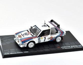 """LANCIA Delta S4 """"MARTINI"""" #7 Toivonen/Cresto победитель Rally Monte-Carlo 1986"""