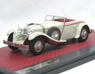 Mercedes-Benz 680S (W06) Torpedo Roadster Saoutchik #35949 - 1928 open (grey)
