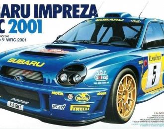 Сборная модель SUBARU Impreza WRC 2001