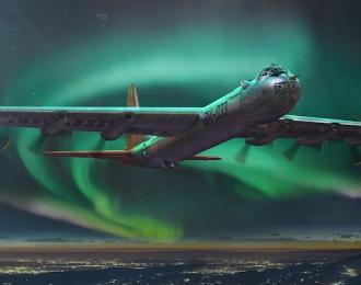 Сборная модель Самолет Convair B-36B Peacemaker (Early)