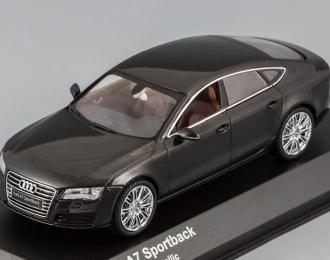AUDI A7 Oolong, grey metallic