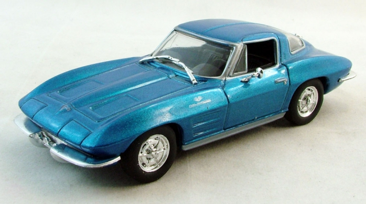 CHEVROLET Corevette Stingray (1963), Суперкары 77, синий