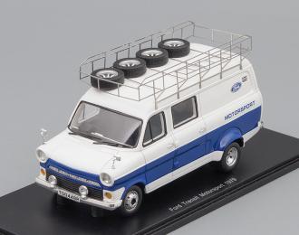 FORD Transit Motosport (1979), white / blue