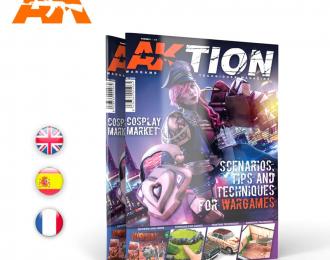 """Книга на английском языке """"AKTION Nº1"""""""