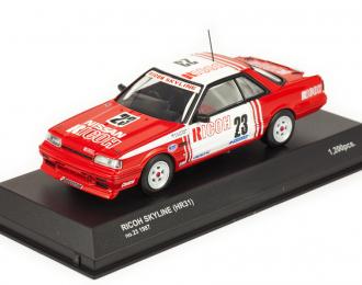 Ricoh Skyline HR31 No 23 1987 (Nissan)
