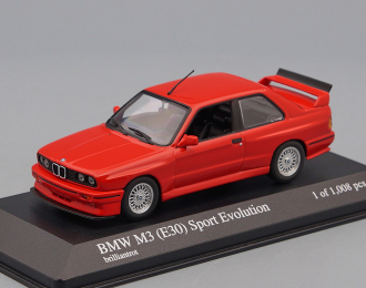 BMW M3 (E30) Sport Evolution (1990), red