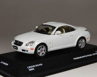 LEXUS SC430 Closed Roof  2005, white pearl crystal shine