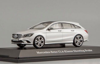 MERCEDES-BENZ CLA Shooting Break X117 (2015), polar silver