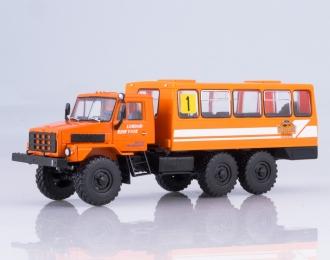 Вахтовый автобус 4322, оранжевый