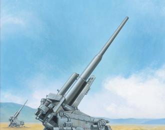 Сборная модель Немецкое зенитное орудие 128мм Flak40