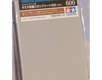 Наждачная бумага на поролоновой основе с зернистостью 600