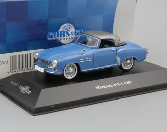WARTBURG 313 Sport (1957), blue / silver