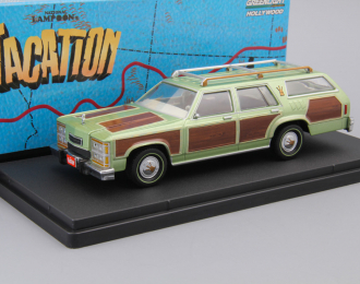 """FORD LTD Country Squire Family Truckster Wagon Queen из к/ф """"Каникулы"""" 1979, green"""