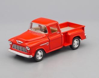CHEVROLET Stepside Pick-up (1955), red