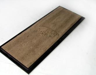 Декоративное основание тип-14 (30х10, пыльное под грейдер)
