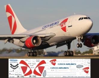 Декаль на самолет Arbus A310-300 (Czeh Arlines New)