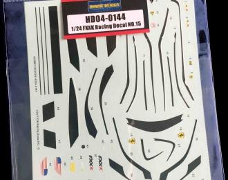 Декаль FXXK Racing Decal NO.15