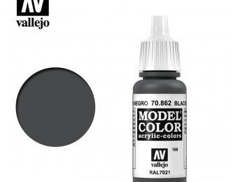 Краска акриловая Model Color Черно-серый / Black Grey