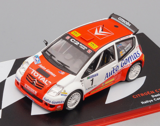 CITROEN C2 Super 1600 #1 Winner Rally Cantabria Infinita Dani Sordo - Marc Marti (2005), red