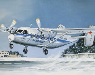 Сборная модель Пассажирский самолет Ан-28 Аэрофлот