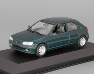 PEUGEOT 306 2-Door Saloon (1995), green metallic