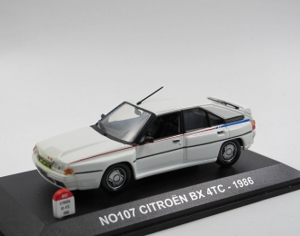 CITROEN BX 4TC (1986), white
