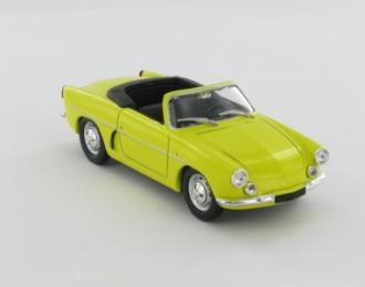 ALPINE Cabriolet A 106 de 1958, серия Alpine and Renault Sportives 25, желтый