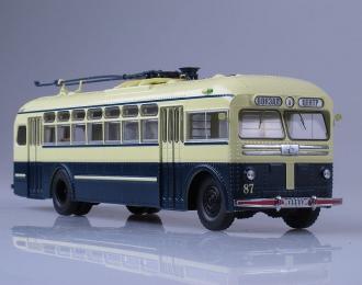 МТБ 82Д Троллейбус пр-ва Тушинского Авиазавода, синий
