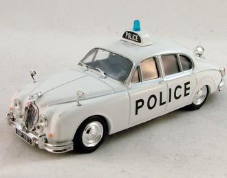 JAGUAR Mk II (1959) Полиция Великобритании, Полицейские Машины Мира 3, белый