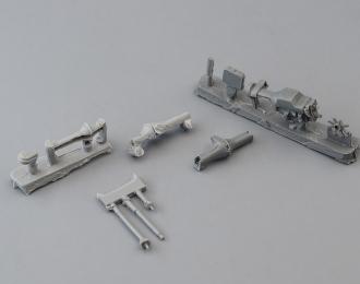 Набор деталей ходовой части УАЗ-452 (6x6, под металлические рамы)