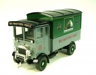 "AEC 508 forward control 5 ton Cabover ""HIS Master's Voice"", серый с зеленым"
