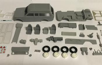 Сборная модель ВАЗ-2131-05 Нива Скорая помощь