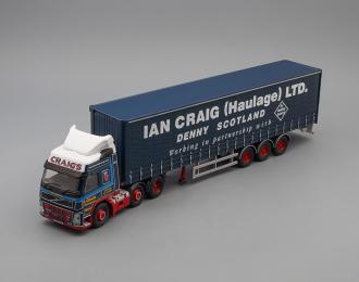 VOLVO FM Curtainside (Ian Craig (Haulage) Ltd), dark blue