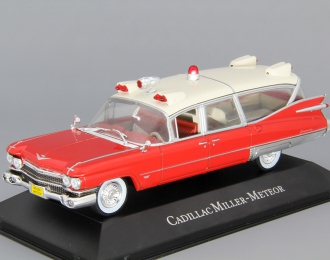 CADILLAC Miller Meteor Ambulance (1959), red