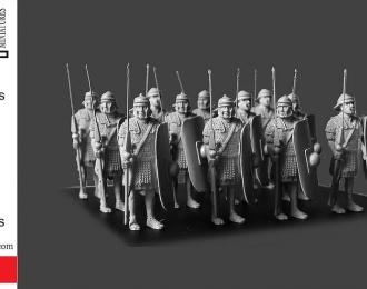 Сборная модель Легионеры в кольчугах