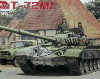 Сборная модель Танк T-72M1 с полным интерьером