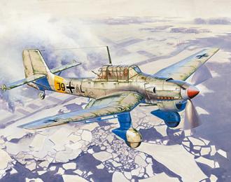 Сборная модель Junkers Ju-87B-2/U4 Stuka
