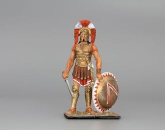 Историческая миниатюра Спартанец