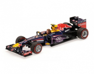 INFINITI RED BULL RACING RENAULT RB9 - MARK WEBBER - LAST F1 RACE - BRAZIL GP 2013