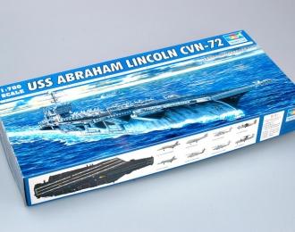 Сборная модель Американский авианосец USS ABRAHAM LINCOLN CVN-72