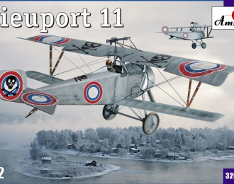 Сборная модель Французский истребитель Nieuport 11 Bebe