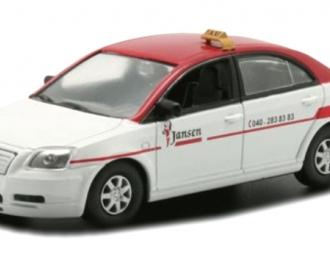 TOYOTA Avensis Eindhoven (2003), Taksowki Swiata 17, бело-красный