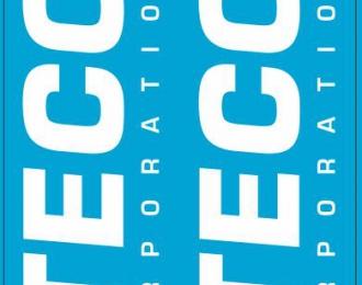 Набор декалей Транспортная компания ITECO, белый (100х140)