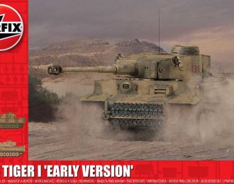 Сборная модель ранняя производственная версия Тигр-1