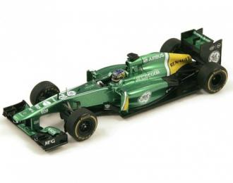 CATERHAM CT03 #20 Monaco GP 2013 Charles Pic, green