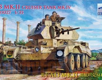 Сборная модель Танк  A13 Mk.II Cruiser Tank Mk.IV